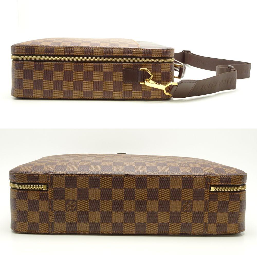 58e90d21c4a9 Authentic LOUIS VUITTON Damier Porte-Ordinateur Sabana Laptop Bag N53355   051538