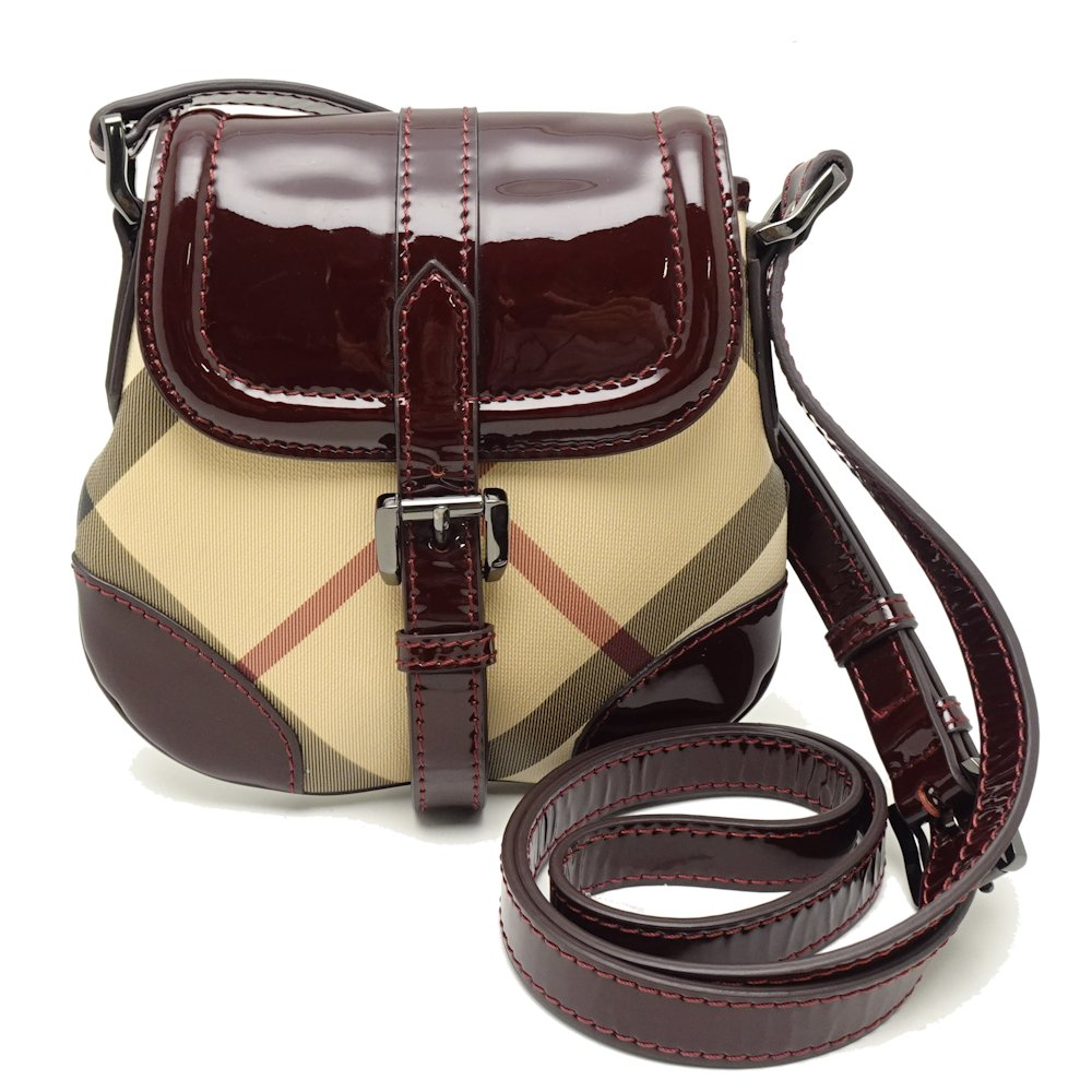 Auth Burberry Prorsum Shoulder Bag Pvc