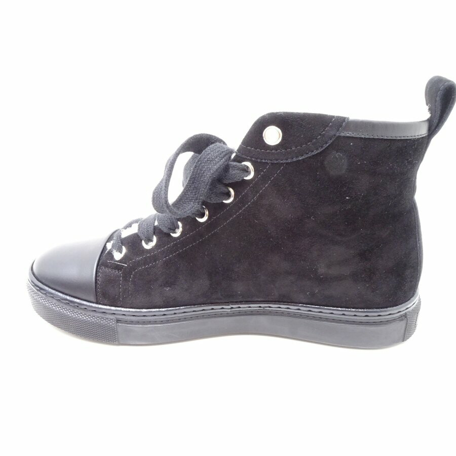 Auth HERMES Sneakers High Cut Jimmy