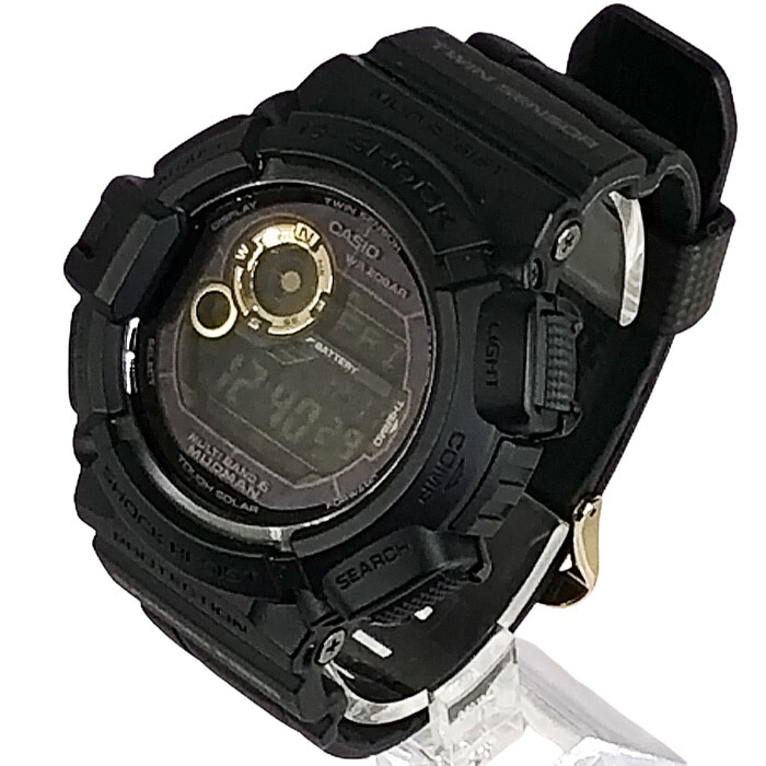 G-SHOCK マッドマン ブラックxゴールドシリーズ GW-9300GB-1JF