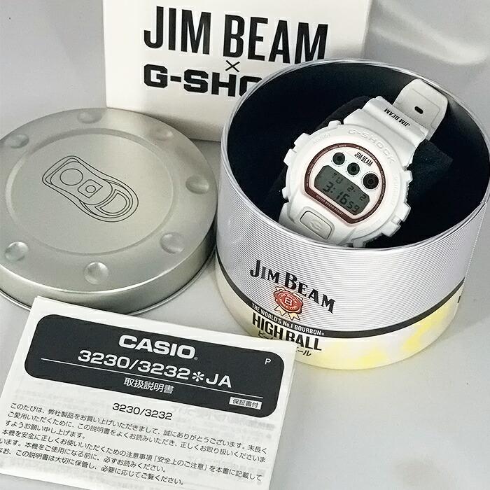 【中古 】カシオ G-SHOCK JIM BEAM ジムビーム クォーツ メンズ 腕時計 DW-6900FS