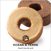 -OCEAN & TERRE-ハニー&ベルギーチョコバウムクーヘン