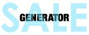 【SALE】GENERATOR(ジェネレーター)