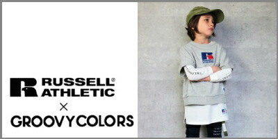 RUSSELL ATHLETIC×GROOVY COLORS