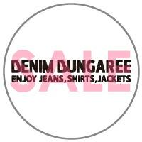 ●【SALE 2019SS】DENIM DUNGAREE(デニム&ダンガリー)