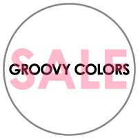 【SALE 2019SS】GROOVY COLORS(グルービーカラーズ)