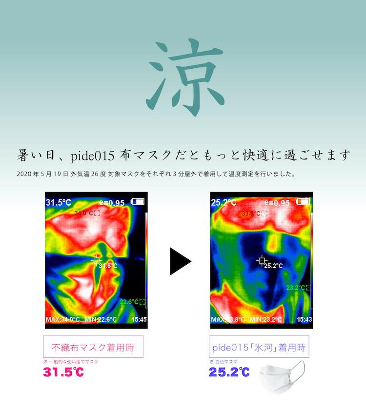 pide015 神戸コットンおしゃれマスク-01 pide008紹介