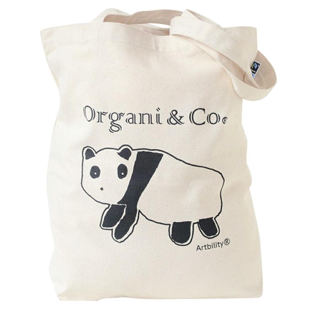 Organi & Co./ショルダートート(パンダ)