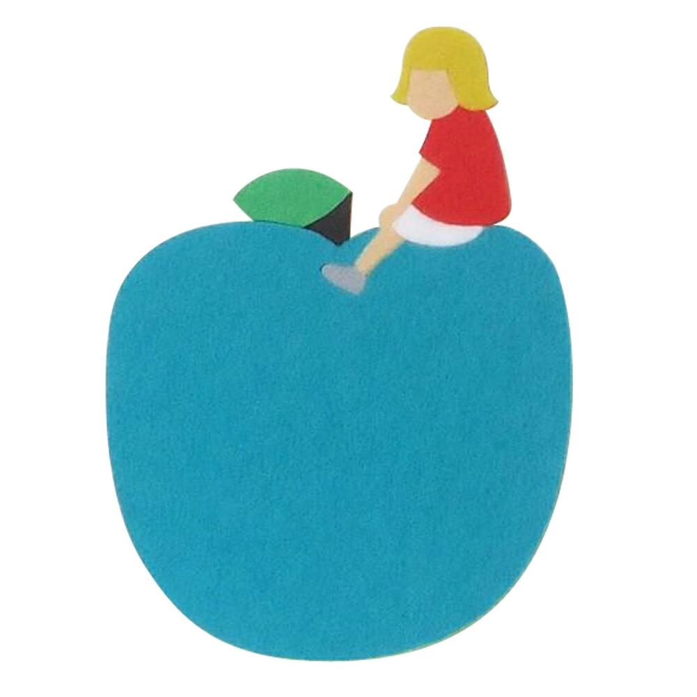 フェルトコースター(青リンゴ)