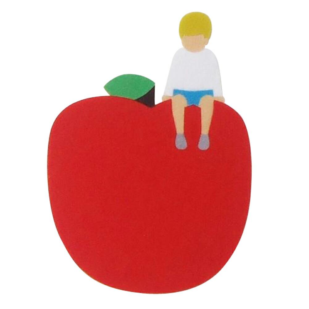 フェルトコースター(赤リンゴ)
