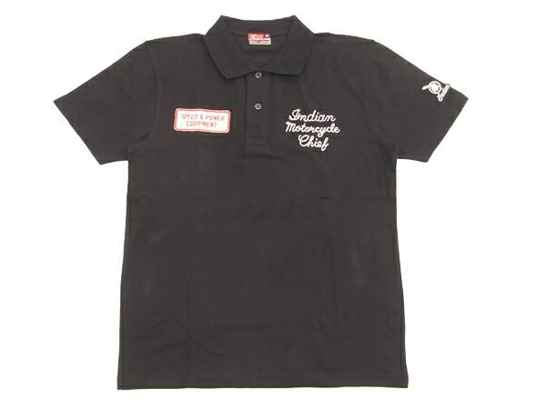Pine Avenue Clothes Shop Indian Motorcycle Polo Shirt