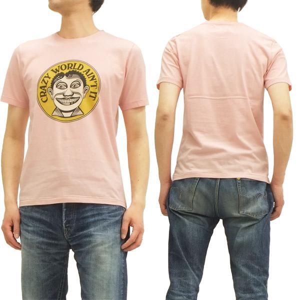 John Van Hamersveld Tシャツ Johnny Face ジョン・ヴァン・ハマーズベルド メンズ 半袖tee 742704