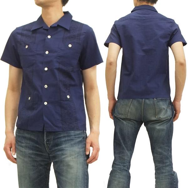 フェローズ キューバシャツ 14S-PCS1 バンダナ柄 pherrows メンズ 開襟 半袖シャツ