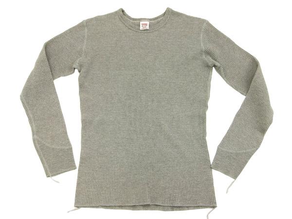 バーンズ アウトフィッターズ ワッフル長袖Tシャツ BR-3050 Barns Outfitters 無地 サーマル メンズ ロンtee