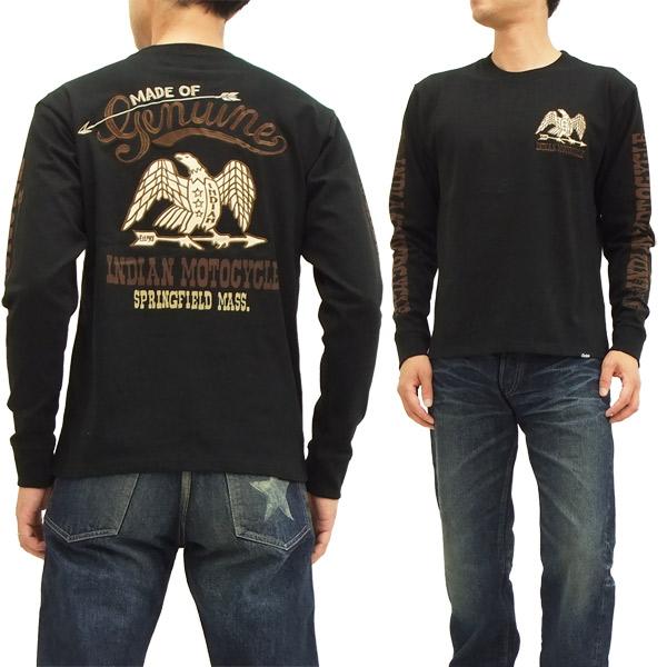 インディアンモトサイクル 長袖Tシャツ IMLT-412 Indian Motocycle メンズ ロンtee