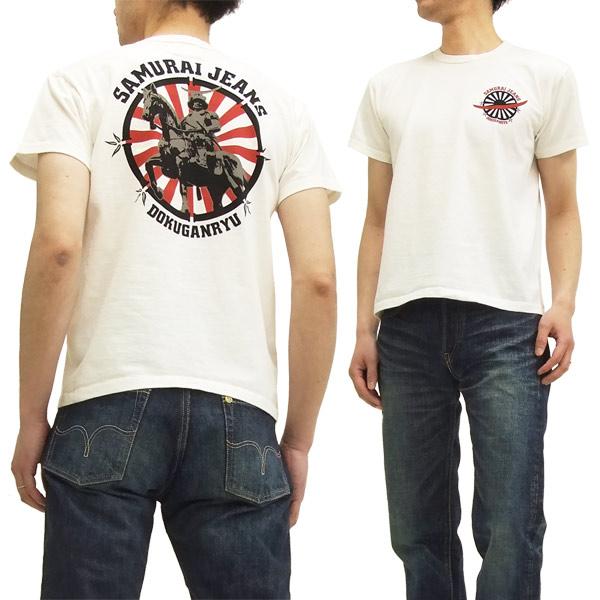 サムライジーンズ Tシャツ SJST15-101 独眼竜政宗 Samurai Jeans メンズ 半袖tee
