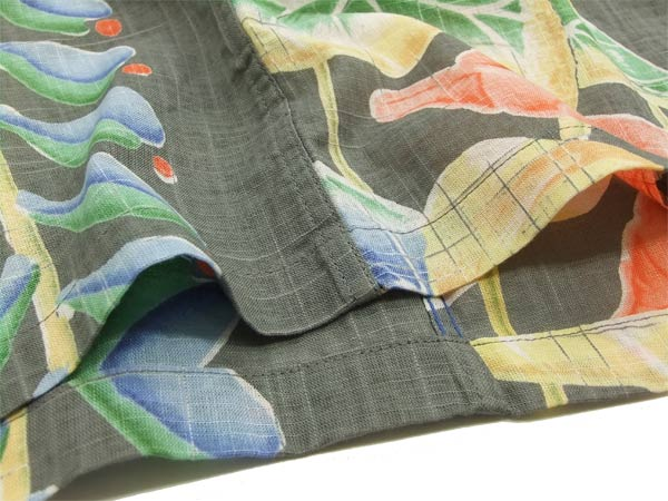 サンサーフ 綿麻アロハシャツ SS36957 sun surf 東洋エンタープライズ メンズ 半袖オープンシャツ