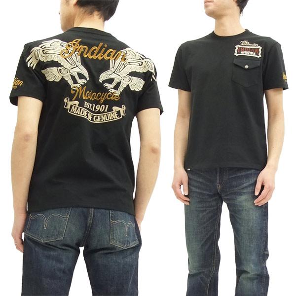 インディアンモトサイクル Tシャツ IMST-704 indian motocycle メンズ 半袖tee