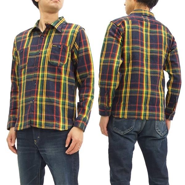フェローズ チェック ネルシャツ 17w-720ws pherrow's メンズ ワークシャツ 長袖シャツ