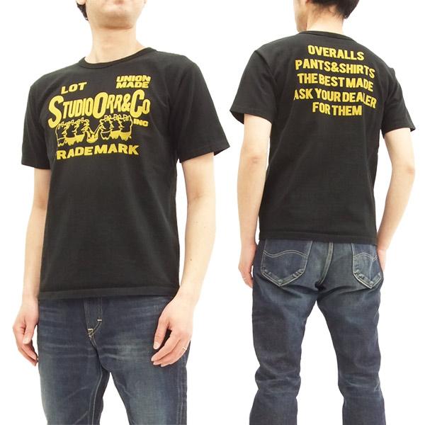 ステュディオ・ダルチザン tシャツ 9914a 豚 studio d'artisan メンズ 半袖tee
