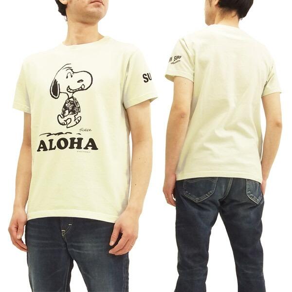 サンサーフ x ピーナッツ ss77973 tシャツ スヌーピー 東洋 sun surf メンズ 半袖tee