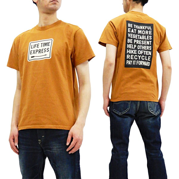 フェローズ Tシャツ 19S-PT7 Pherrow's Pherrows メッセージロゴ メンズ 半袖tee 新品