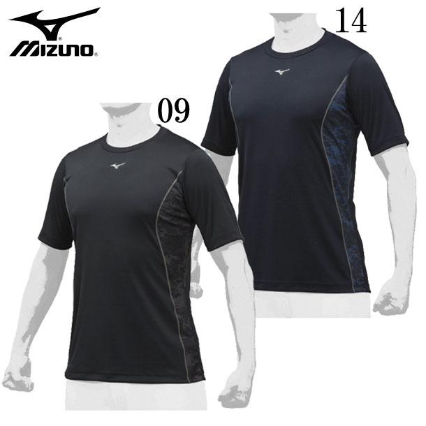 ローネック・半袖 展示会限定品 MIZUNO ミズノ 野球 アンダーシャツ 19SS 12JA9P86 野球ウエア
