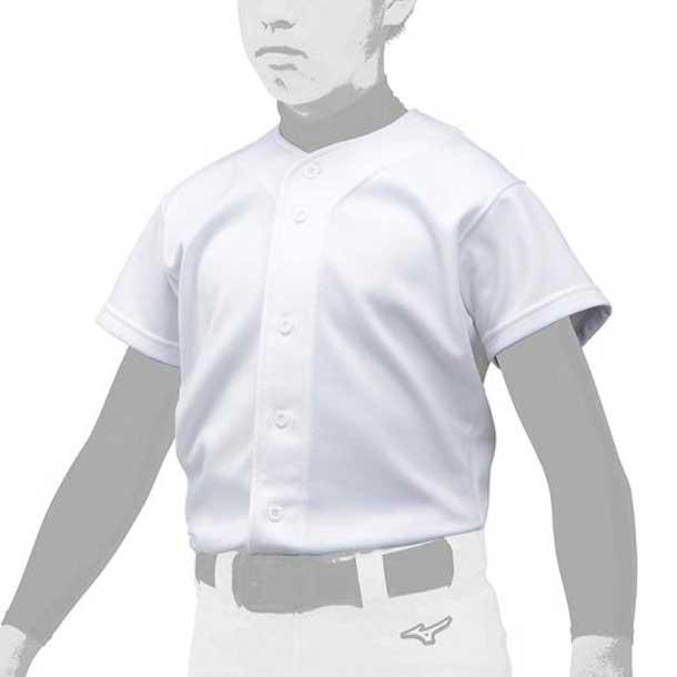 ミズノ 野球ウエア GACHIユニフォームシャツ/オープンタイプ ジュニア MIZUNO 野球 ウエア ユニフォームシャツ 12JC9F80 12jc9f8001