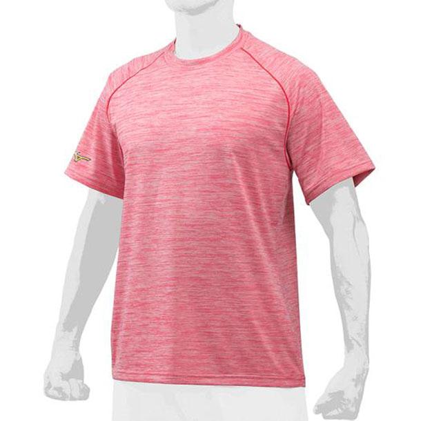 ミズノ 12ja8t0262 MIZUNO 野球ウエア 『ミズノプロ』杢Tシャツ/丸首 野球 ウエア ベースボールシャツ 12JA8T02