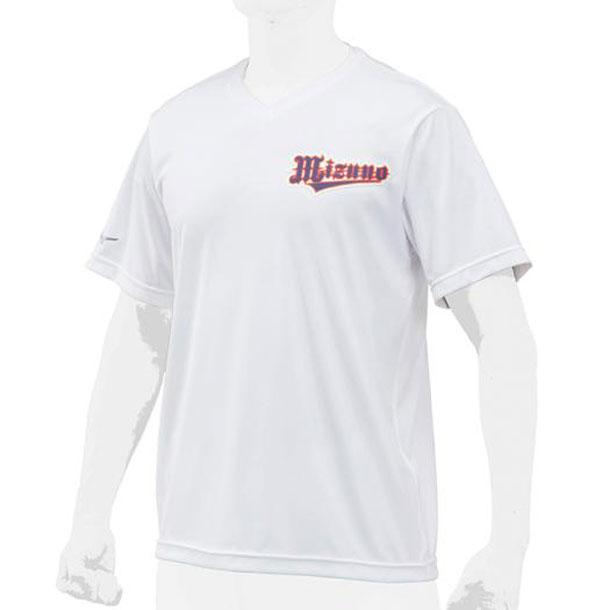 ミズノ MIZUNO 12jc8l2001 野球ウエア ベースボールシャツ/V首 ユニセックス 野球 ウエア ベースボールシャツ 12JC8L20