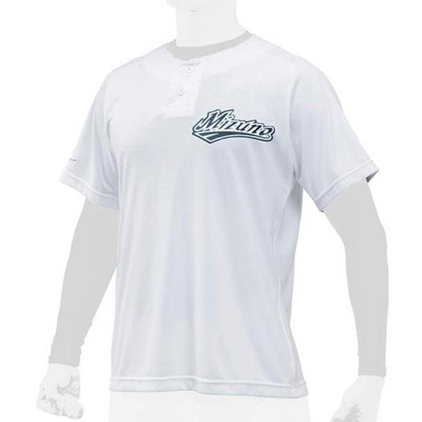 ミズノ 野球ウエア ベースボールシャツ/ハーフボタン ユニセックス MIZUNO 野球 ウエア ベースボールシャツ 12JC8L21 12jc8l2101