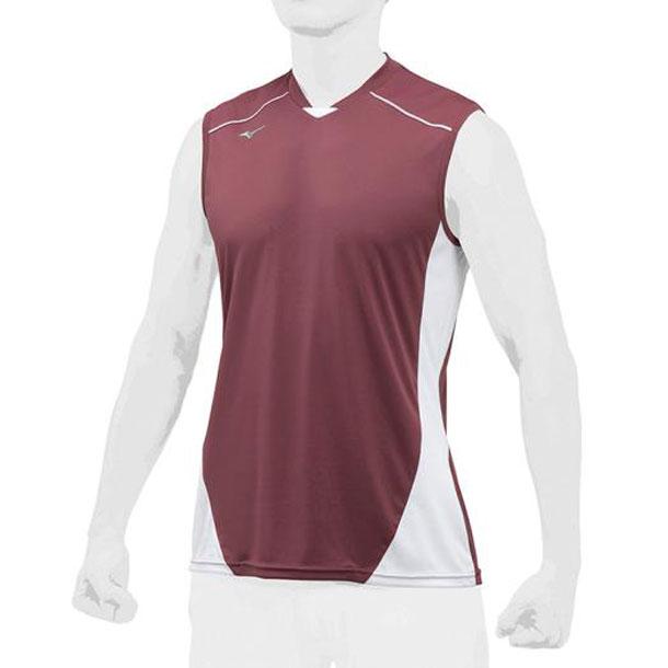 ミズノ 野球ウエア ベースボールシャツ/クールスリーブ MIZUNO 野球 ウエア ベースボールシャツ 12JC8L23 12jc8l2363
