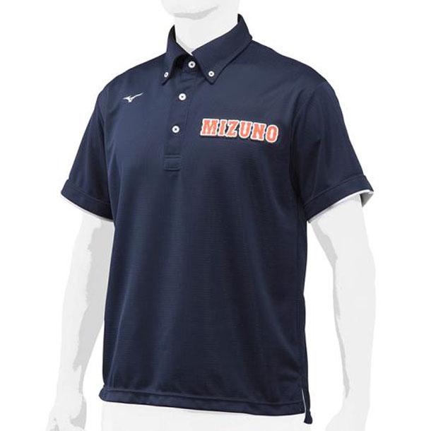 ミズノ MIZUNO 12jc8h1214 野球ウエア ポロシャツ 野球 ウエア ベースボールシャツ 12JC8H12