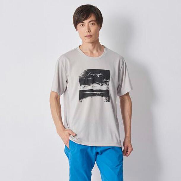 ミズノ ウォーキングウエア MIZUNO b2ja800504 グラフィック半袖Tシャツ メンズ ウォーキング ウエア シャツ B2JA8005