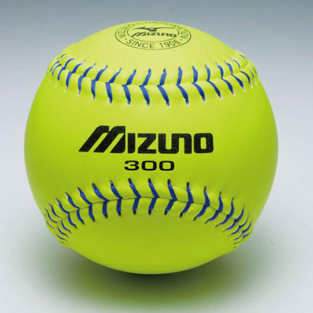 MIZUNO 1bjbs30000 ミズノ ソフトボール用ボール ミズノ300革ソフトボール 1ダース ソフトボール ボール 試合球・練習球