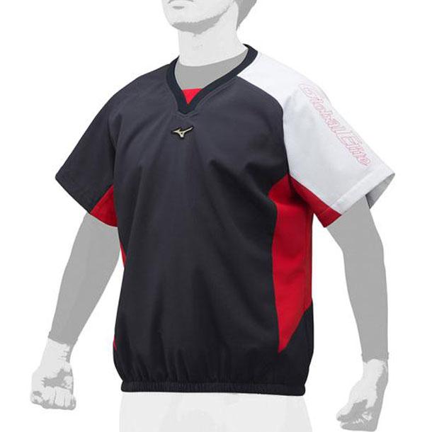 グローバルエリート Vネックジャケット ユニセックス MIZUNO ミズノ 野球 ウエアグローバルエリート 12JE9V50 12je9v5014 野球ウエア