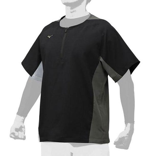グローバルエリート ハーフZIPジャケット ユニセックス MIZUNO ミズノ 野球 ウエアグローバルエリート 12JE9V51 12je9v5109 野球ウエア