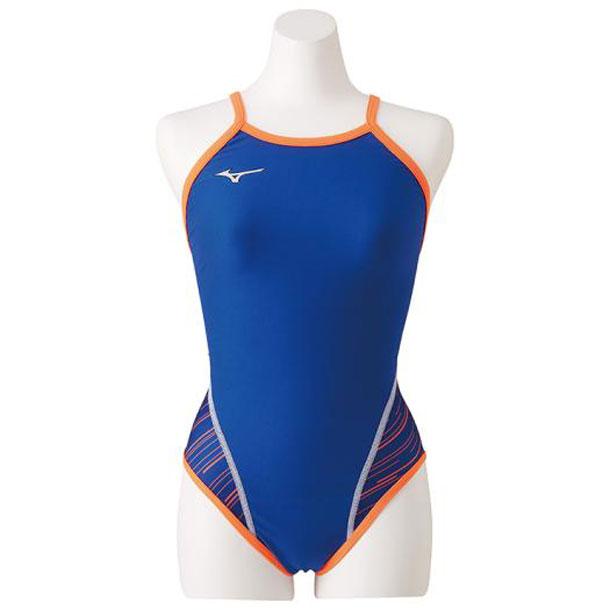 ミズノ 競泳水着 MIZUNO n2ma928227 競泳練習用ミディアムカット レディース スイム エクサースーツ 練習用水着 N2MA9282