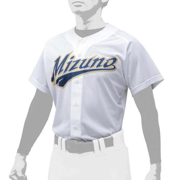 シャツ/オープンタイプ 野球 ユニセックス MIZUNO ミズノ ユニフォーム ユニフォームシャツ 12JC0F43 12jc0f4301 野球ウエア