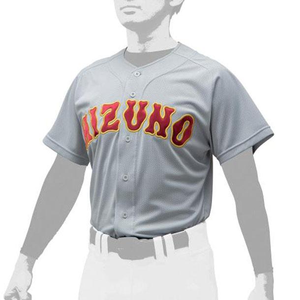 シャツ/オープンタイプ 野球 ユニセックス MIZUNO ミズノ ユニフォーム ユニフォームシャツ 12JC0F43 12jc0f4305 野球ウエア