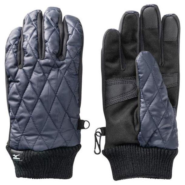 ミズノ ブレスサーモ ブレスサーモ中綿手袋 メンズ MIZUNO 手袋 グラブ C2JY9637 c2jy963714