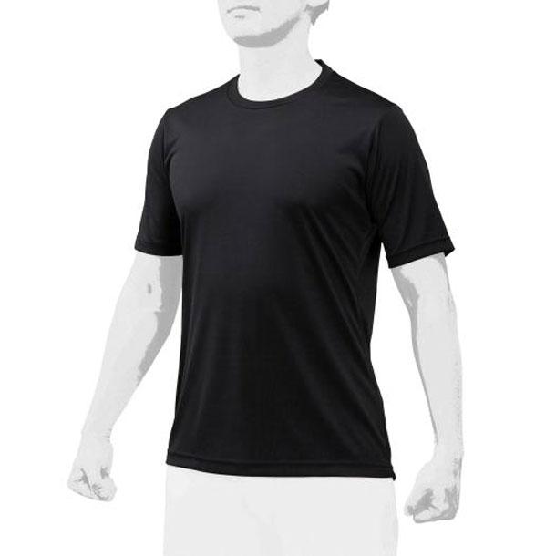 ミズノ 12ja0q0409 MIZUNO 野球ウエア ローネック/半袖 2枚組 ユニセックス 野球 アンダーシャツ 丸首半袖 12JA0Q04