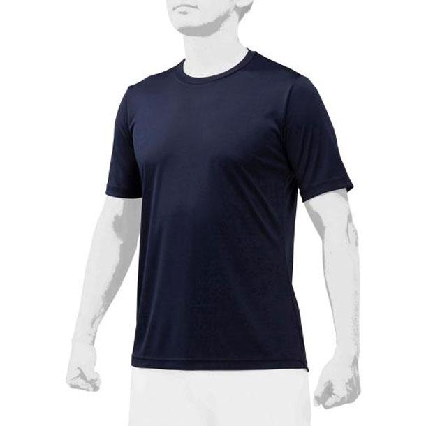 ミズノ 12ja0q0414 MIZUNO 野球ウエア ローネック/半袖 2枚組 ユニセックス 野球 アンダーシャツ 丸首半袖 12JA0Q04