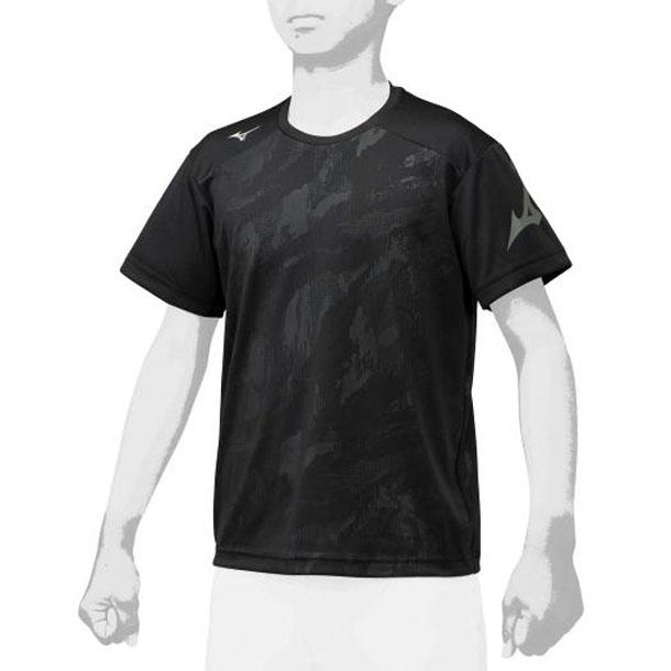 ミズノ 12ja0t6909 MIZUNO 野球ウエア グラフィックTシャツ ジュニア 野球 ウエア 限定アパレル 12JA0T69
