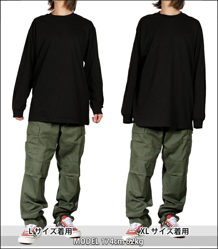 無地 ロンt メンズ 長袖tシャツ GILDAN ギルダン ロンT 無地 Tシャツ アダルト ロングスリーブTシャツ 5.3オンス 大きいサイズ ロンティー 綿100% ユニフォーム チームTシャツ ペア ユニセックス
