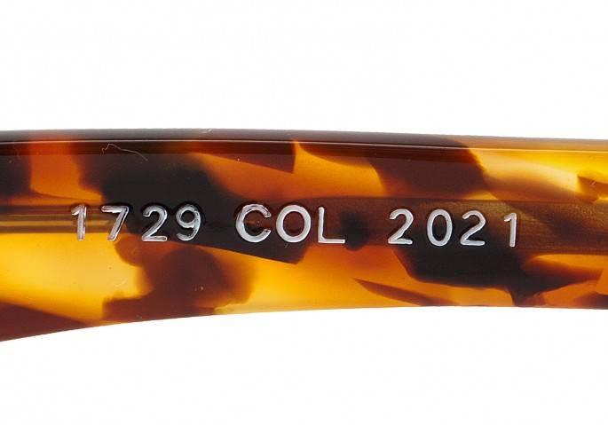アランミクリ alain mikli 1729 COL 2021 度入りレンズ べっ甲58□21 147