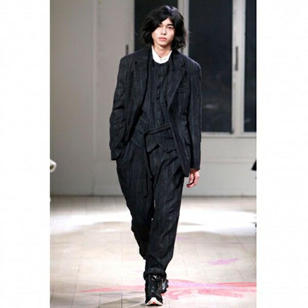 ヨウジヤマモトプールオムyohji yamamoto pour homme×アディダスadidas X BOUNCE スニーカー 黒27.5