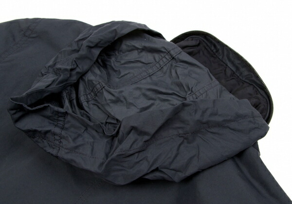 イッセイミヤケ フェットISSEY MIYAKE FETE Thinsulate 中綿ジップブルゾン 黒3