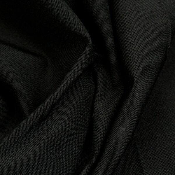 ヨウジヤマモト プールオム Yohji Yamamoto POUR HOMME ウールナイロンタックパンツ 黒M