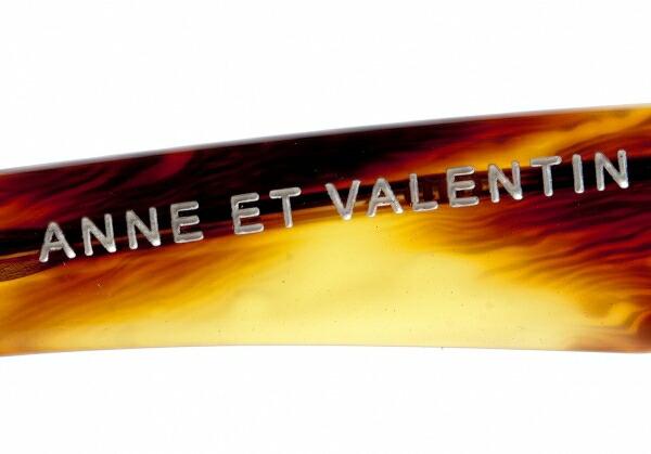 アンバレンタインANNE ET VALENTIN PLUME 0917 度入りレンズ 茶47□15 130